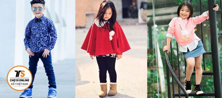 7 Nhà Bán Sỉ Quần áo trẻ em hàng đẹp giá tốt