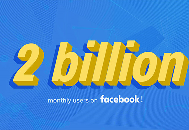 Facebook đạt mức 2 tỷ người dùng, gửi lời tri ân đến cộng đồng