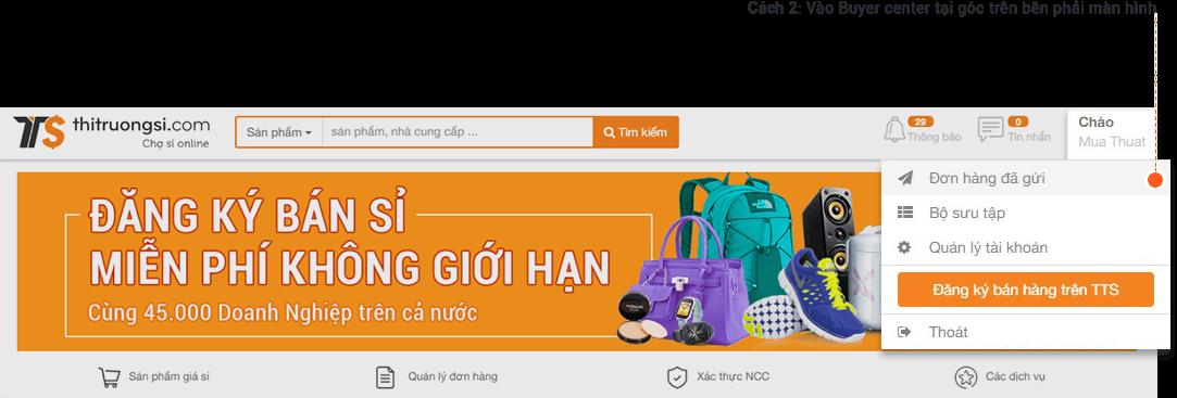 huong dan mua hang si tai thitruongsi.com