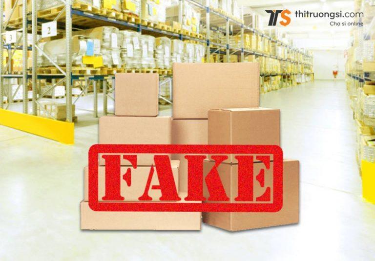 Quy trình xử lý hàng Fake ( hàng nhái ) tại Thitruongsi.com