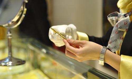 Giá vàng thế giới tăng đầu tuần