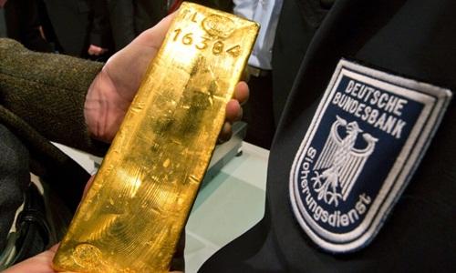 Đức chuyển xong hơn 740 tấn vàng về nước