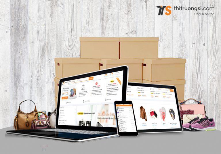Hướng dẫn kiểm tra đơn hàng tại màn hình website thitruongsi.com ( Dành cho người mua sỉ )
